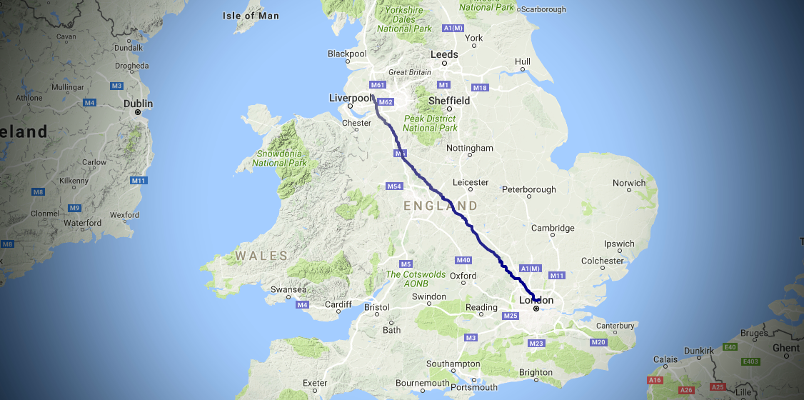 London New Years 2016 Planned Route Feature Image